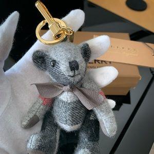 Burberry Thomas Bear Keychain Bag Charm